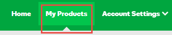 My products tab